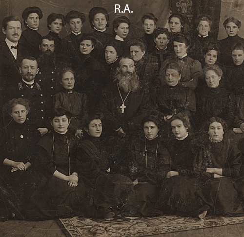 Ronya, Russian School, Latvia, 1909