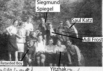 Youth Group, with Ytzhack, Saul